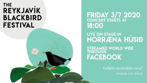 Reykjavik Blackbird Mini-Festival @ Norræna húsið